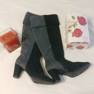 Dressbarn Black and Grey boots